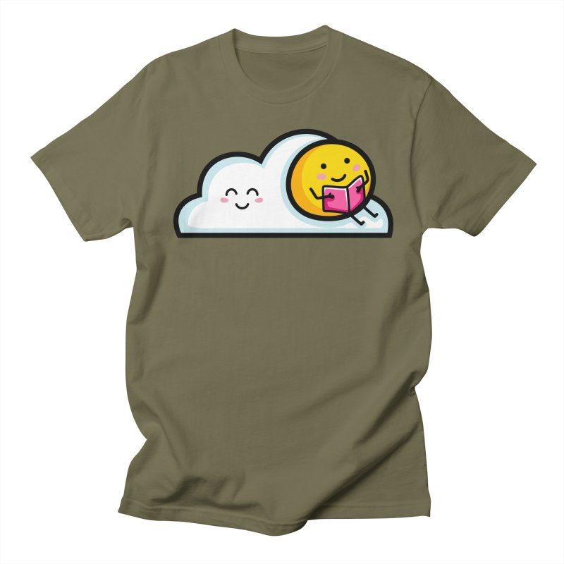 Love Summer Reading Women's Regular Unisex T-Shirt by Flaming Imp's Artist Shop