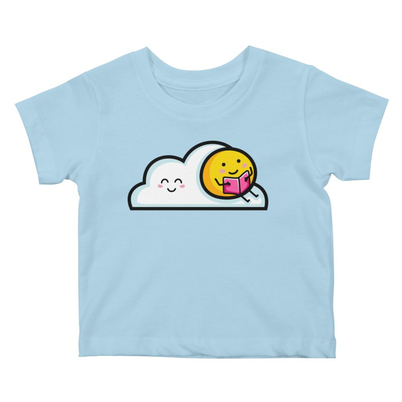 Love Summer Reading Kids Baby T-Shirt by Flaming Imp's Artist Shop