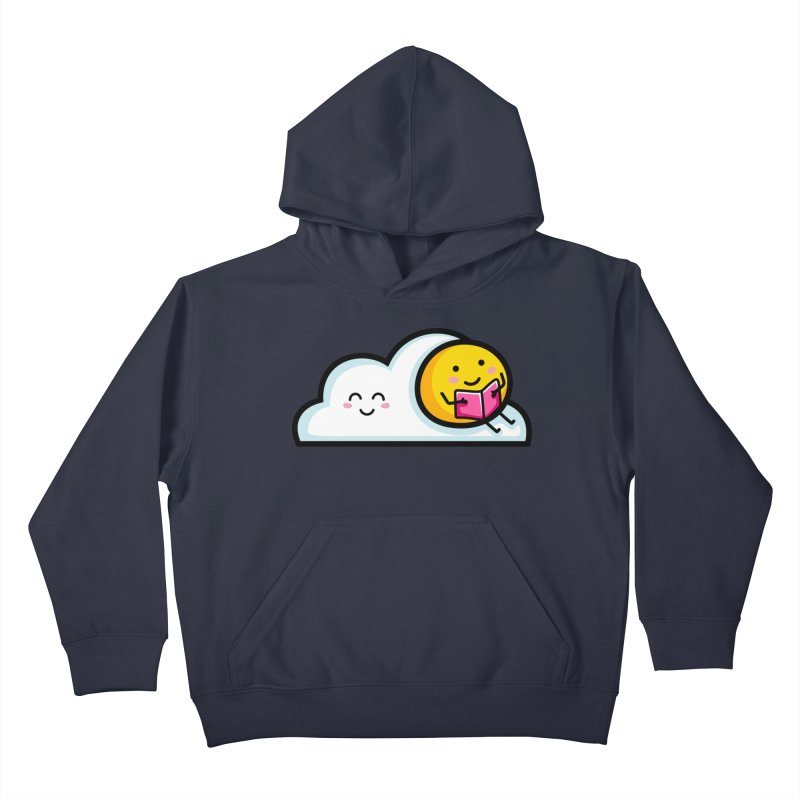 Love Summer Reading Kids Pullover Hoody by Flaming Imp's Artist Shop