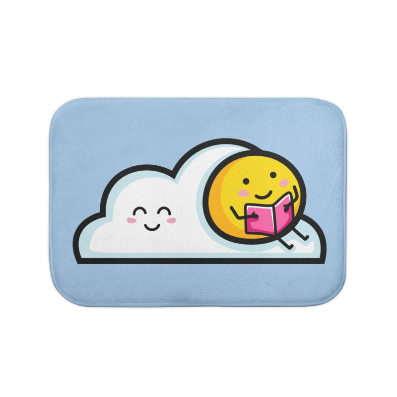 Love Summer Reading Home Bath Mat by Flaming Imp's Artist Shop