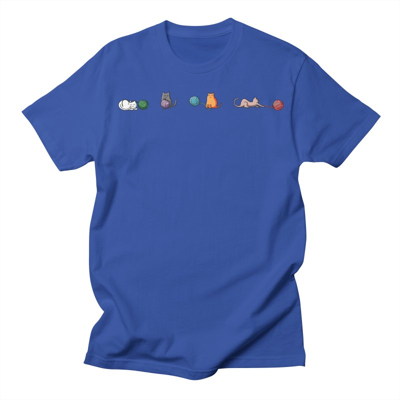 Cats at play Men's T-Shirt by Flaming Imp's Artist Shop