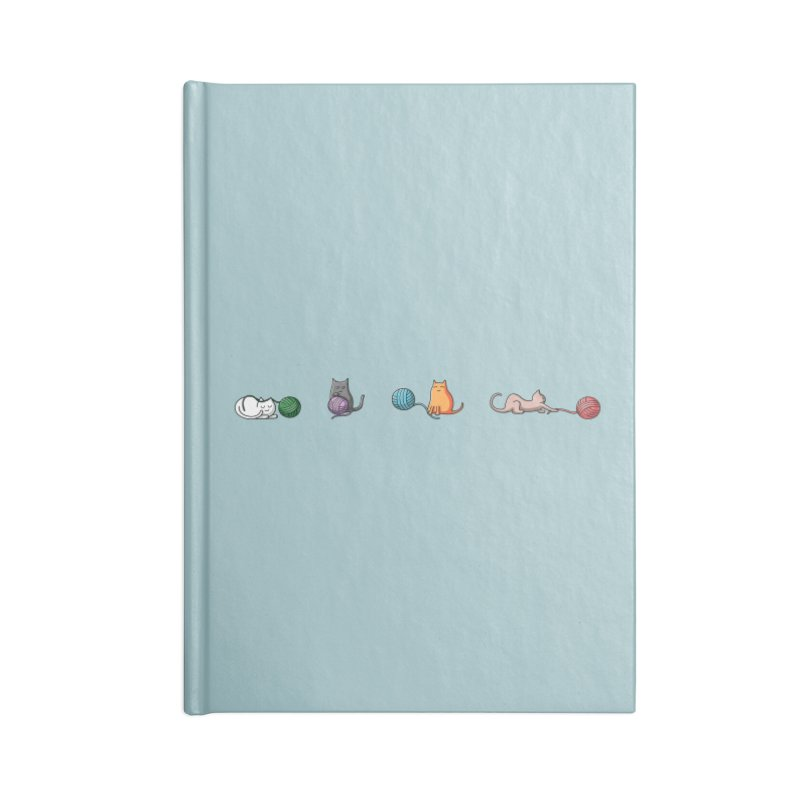 Cats at play Accessories Notebook by Flaming Imp's Artist Shop
