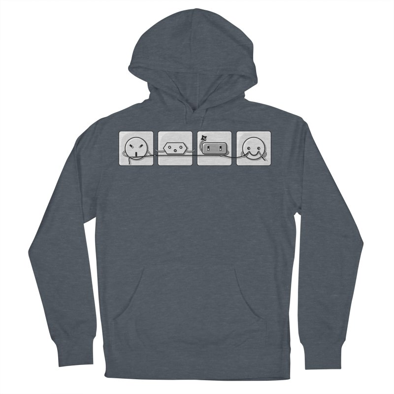 Power Struggle Women's French Terry Pullover Hoody by Flaming Imp's Artist Shop
