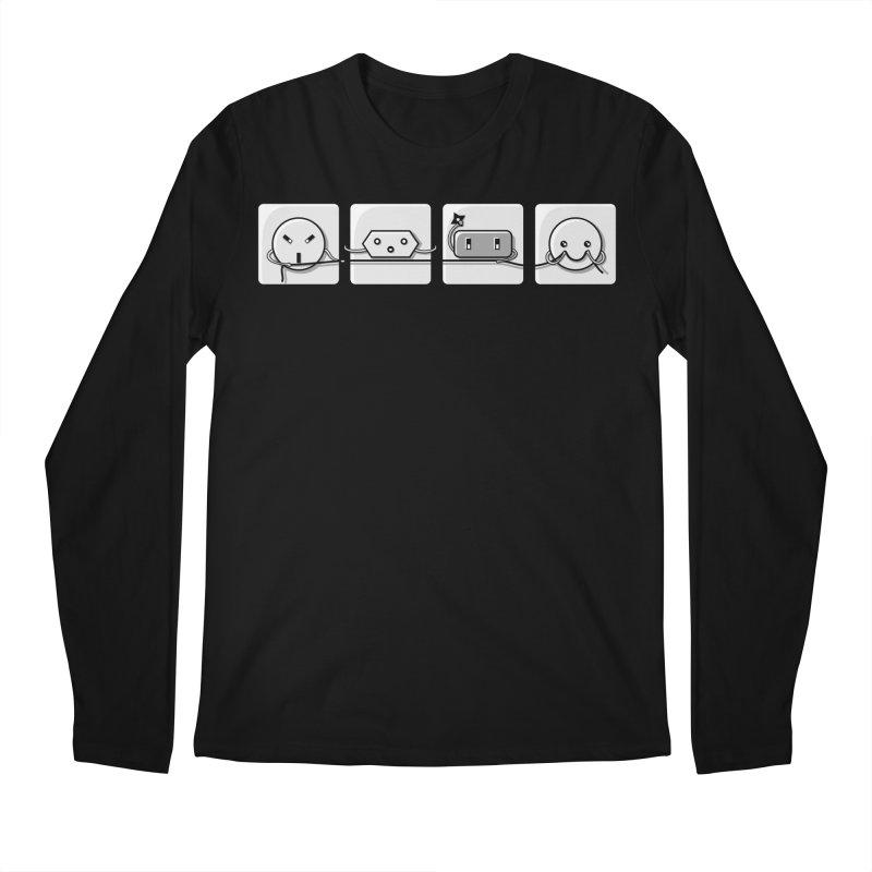 Power Struggle Men's Regular Longsleeve T-Shirt by Flaming Imp's Artist Shop