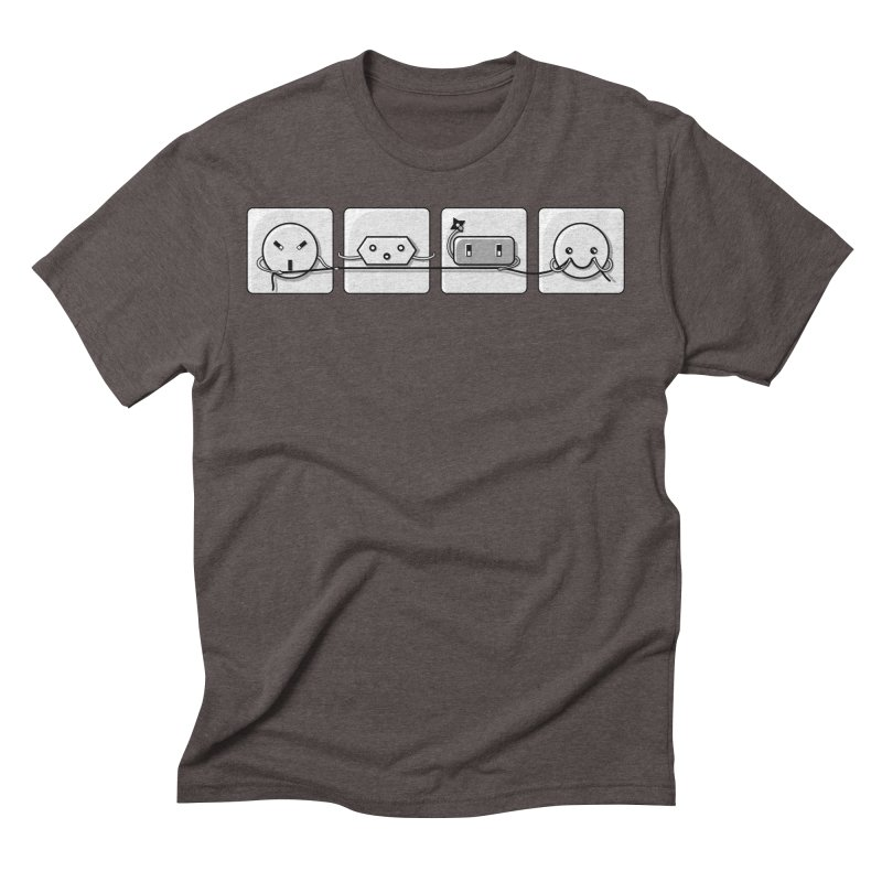 Power Struggle Men's Triblend T-Shirt by Flaming Imp's Artist Shop