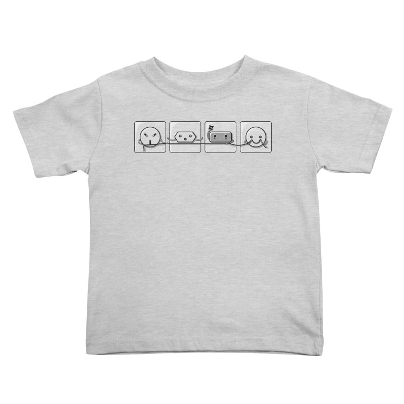 Power Struggle Kids Toddler T-Shirt by Flaming Imp's Artist Shop