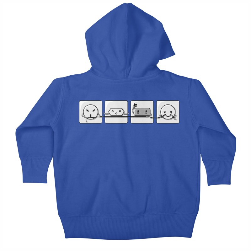 Power Struggle Kids Baby Zip-Up Hoody by Flaming Imp's Artist Shop