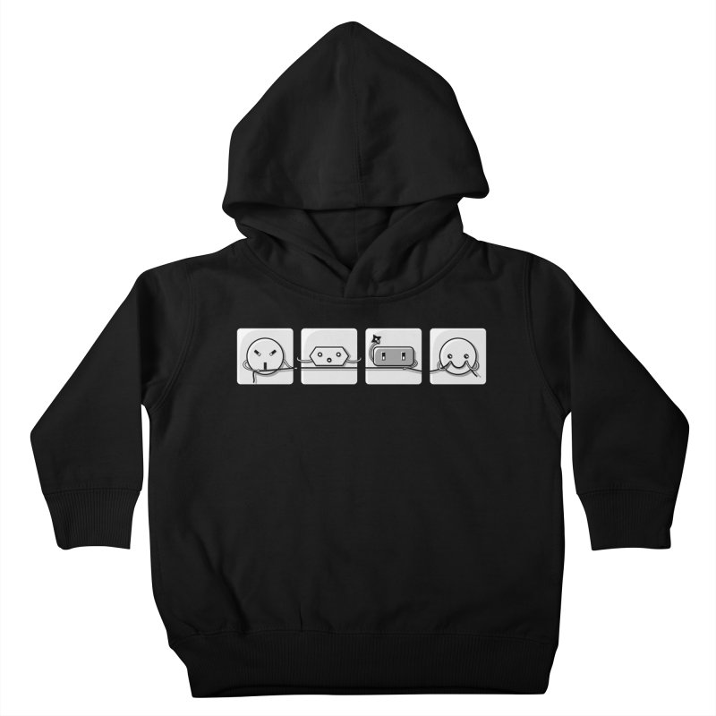 Power Struggle Kids Toddler Pullover Hoody by Flaming Imp's Artist Shop