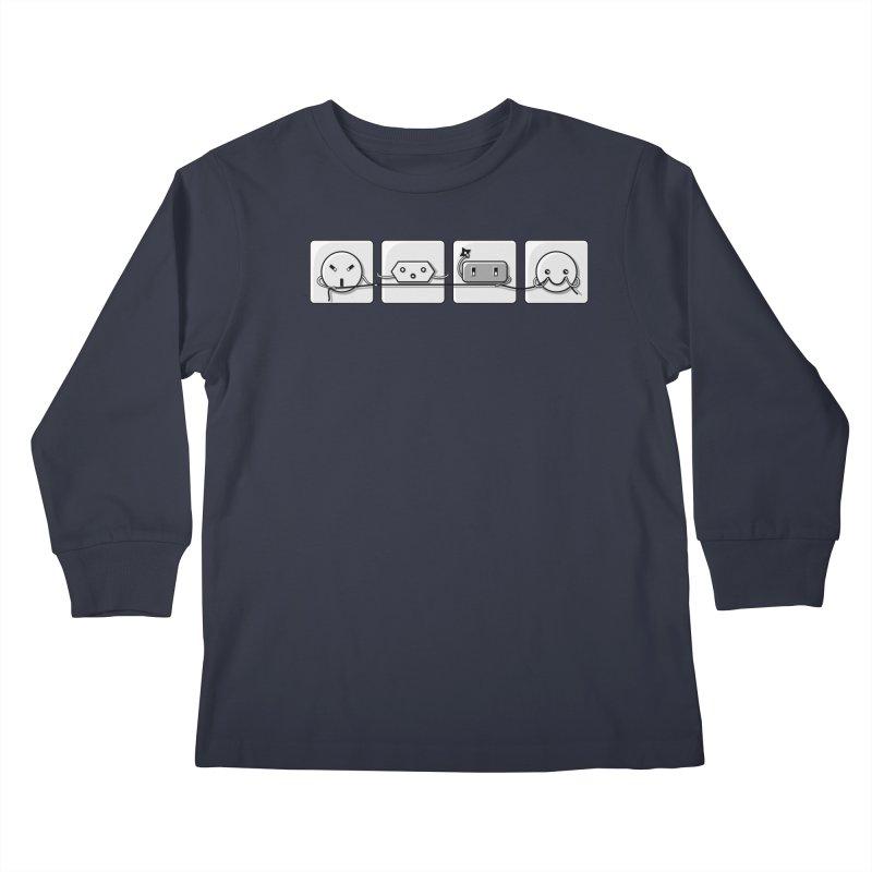 Power Struggle Kids Longsleeve T-Shirt by Flaming Imp's Artist Shop