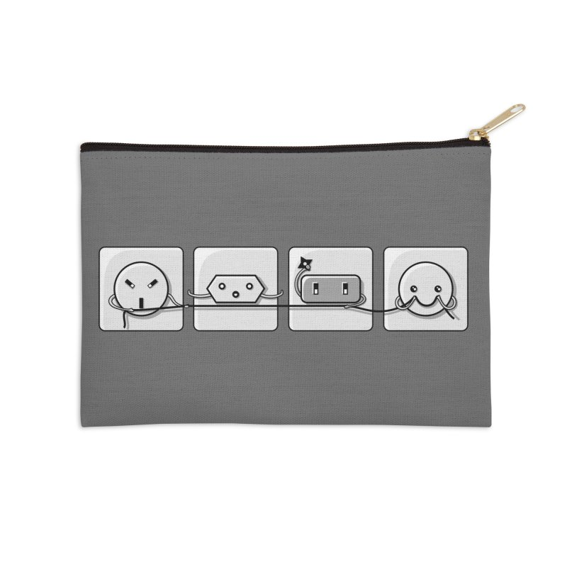 Power Struggle Accessories Zip Pouch by Flaming Imp's Artist Shop