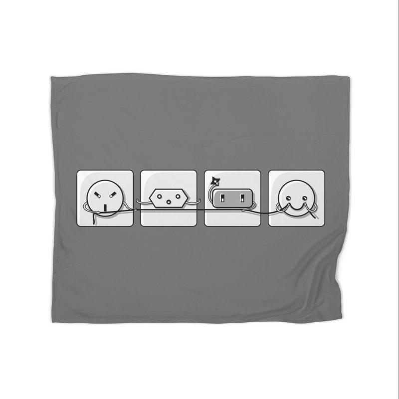 Power Struggle Home Blanket by Flaming Imp's Artist Shop