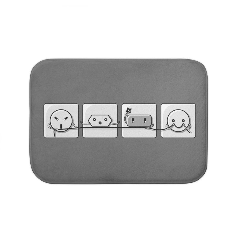 Power Struggle Home Bath Mat by Flaming Imp's Artist Shop