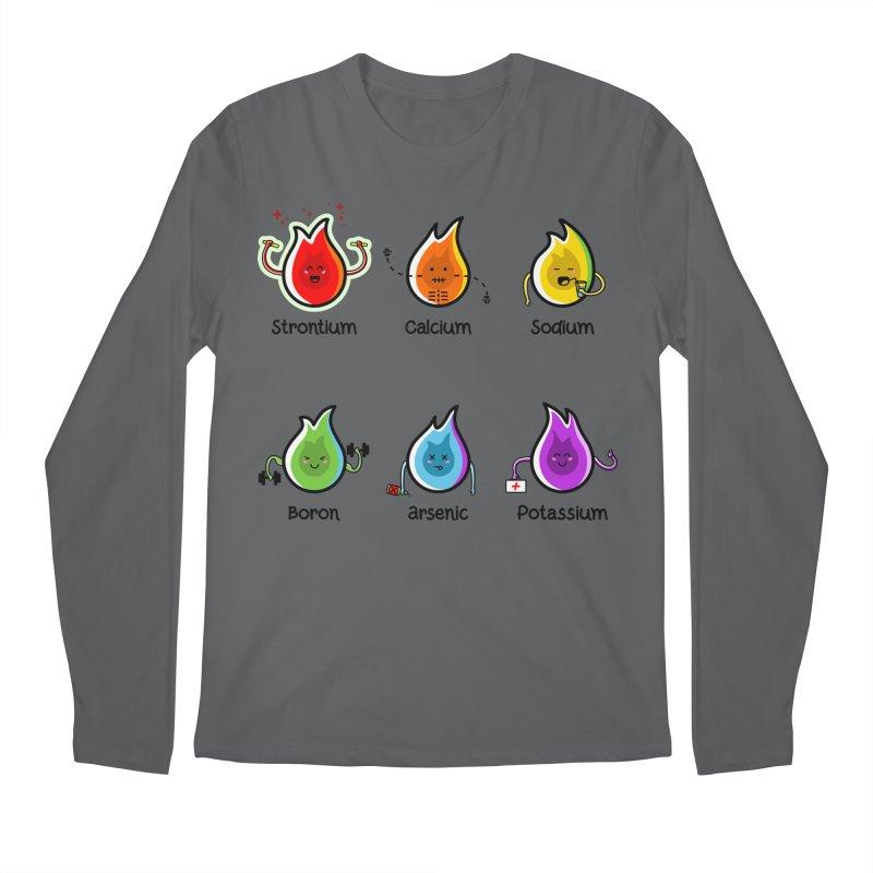 Flaming Elements Men's Regular Longsleeve T-Shirt by Flaming Imp's Artist Shop