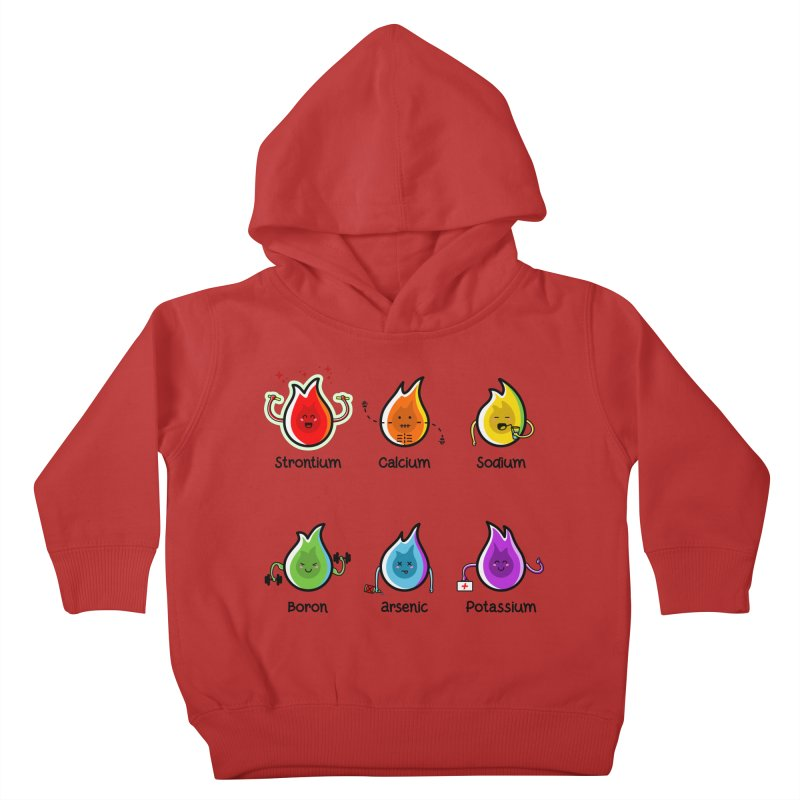 Flaming Elements Kids Toddler Pullover Hoody by Flaming Imp's Artist Shop