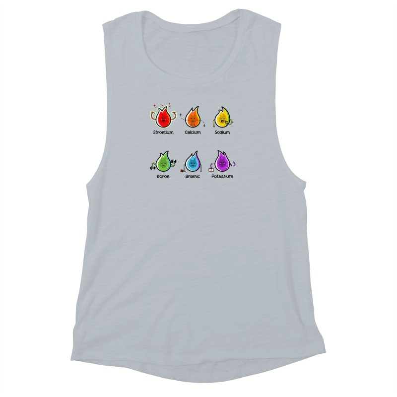 Flaming Elements Women's Muscle Tank by Flaming Imp's Artist Shop