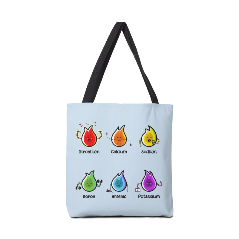 Flaming Elements Accessories Bag by Flaming Imp's Artist Shop