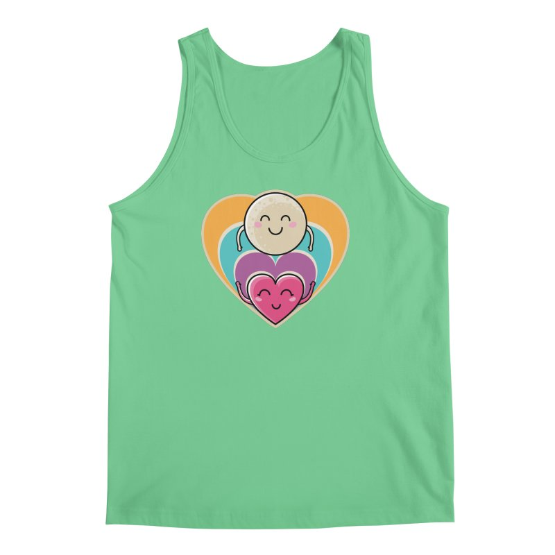Love to the moon and back Men's Regular Tank by Flaming Imp's Artist Shop