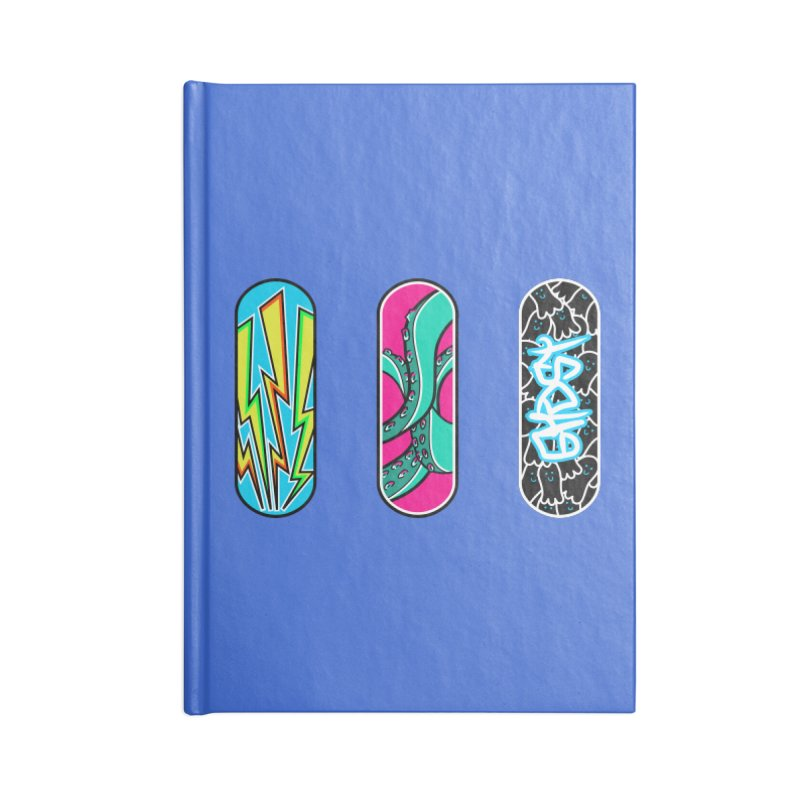 The art of skateboarding Accessories Notebook by Flaming Imp's Artist Shop