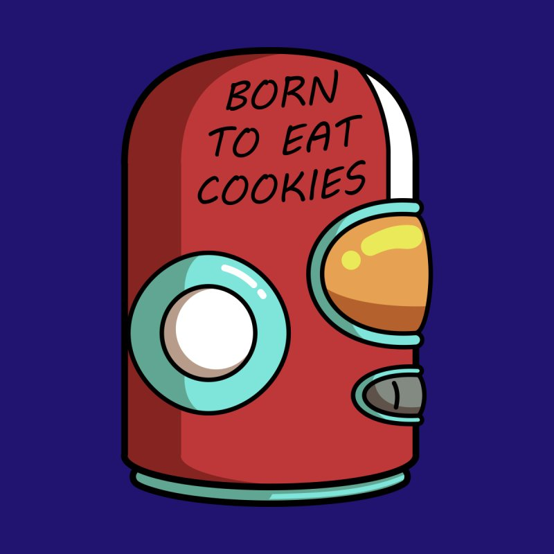 Gary Born To Eat Cookies by Flaming Imp's Artist Shop