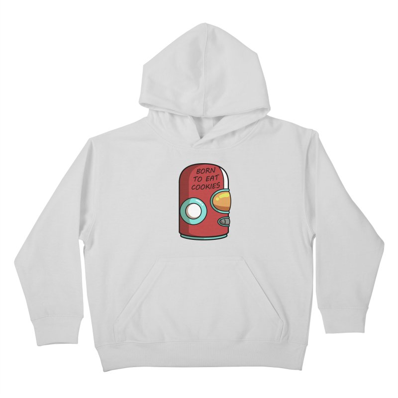 Gary Born To Eat Cookies Kids Pullover Hoody by Flaming Imp's Artist Shop