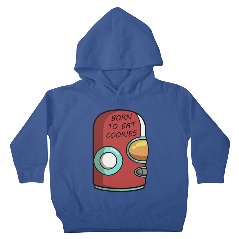 Gary Born To Eat Cookies Kids Toddler Pullover Hoody by Flaming Imp's Artist Shop