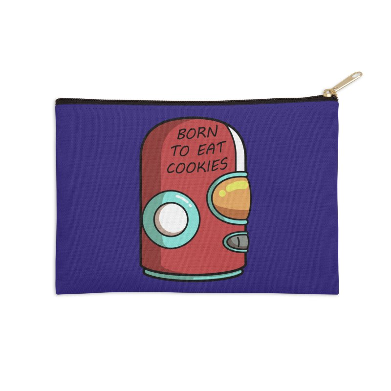 Gary Born To Eat Cookies Accessories Zip Pouch by Flaming Imp's Artist Shop