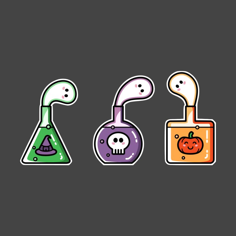 Cute Halloween Ghost Potions   by Flaming Imp's Artist Shop