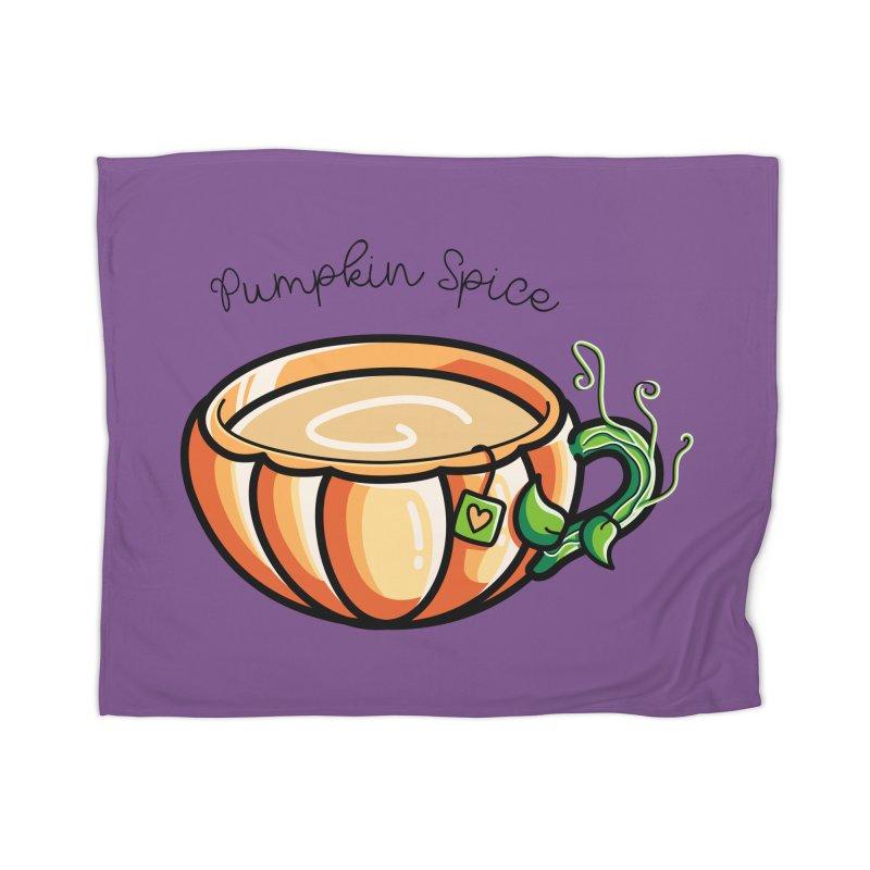 Pumpkin Spice Chai Tea Home Blanket by Flaming Imp's Artist Shop