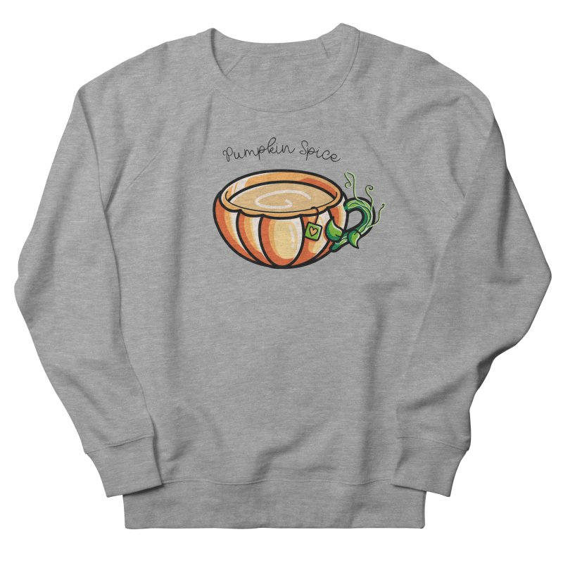 Pumpkin Spice Chai Tea Women's French Terry Sweatshirt by Flaming Imp's Artist Shop