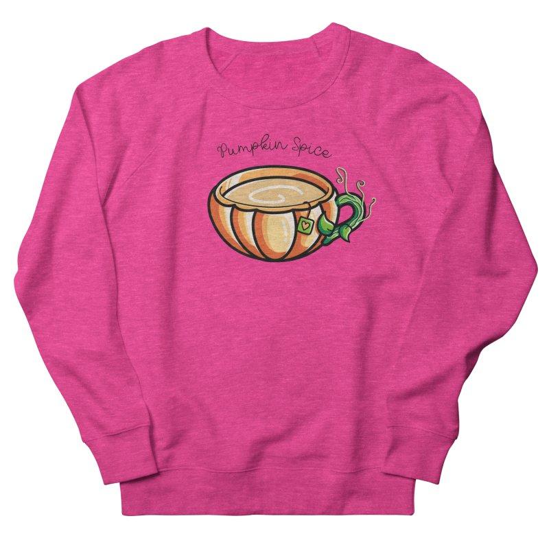 Pumpkin Spice Chai Tea Men's French Terry Sweatshirt by Flaming Imp's Artist Shop