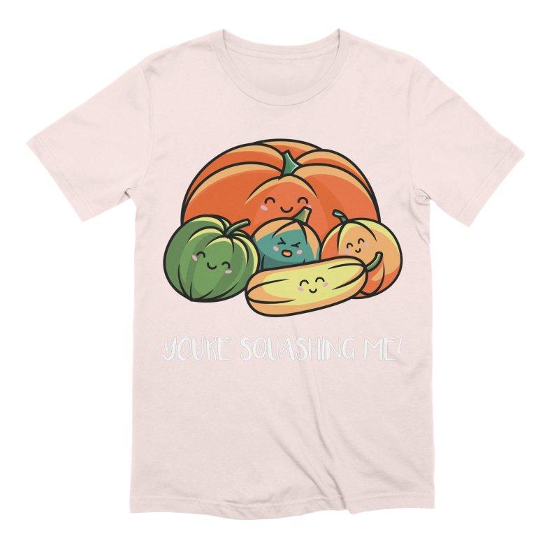 Autumn Squash Men's Extra Soft T-Shirt by Flaming Imp's Artist Shop