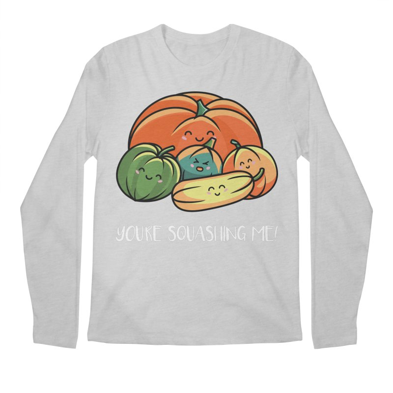Autumn Squash Men's Regular Longsleeve T-Shirt by Flaming Imp's Artist Shop