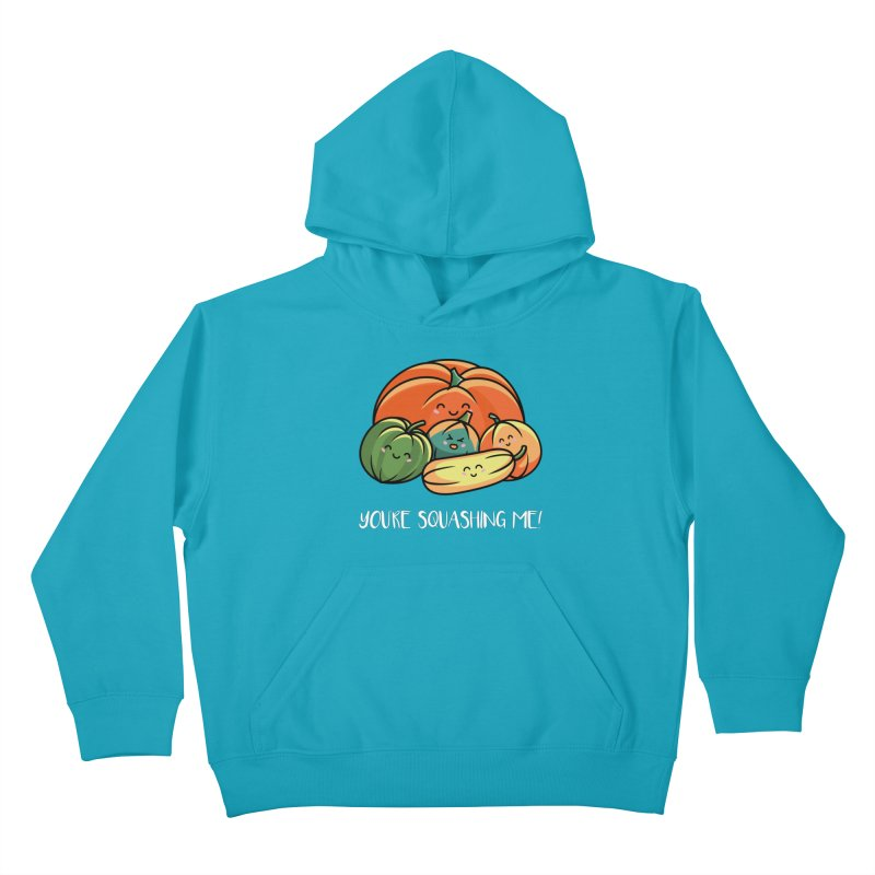 Autumn Squash Kids Pullover Hoody by Flaming Imp's Artist Shop