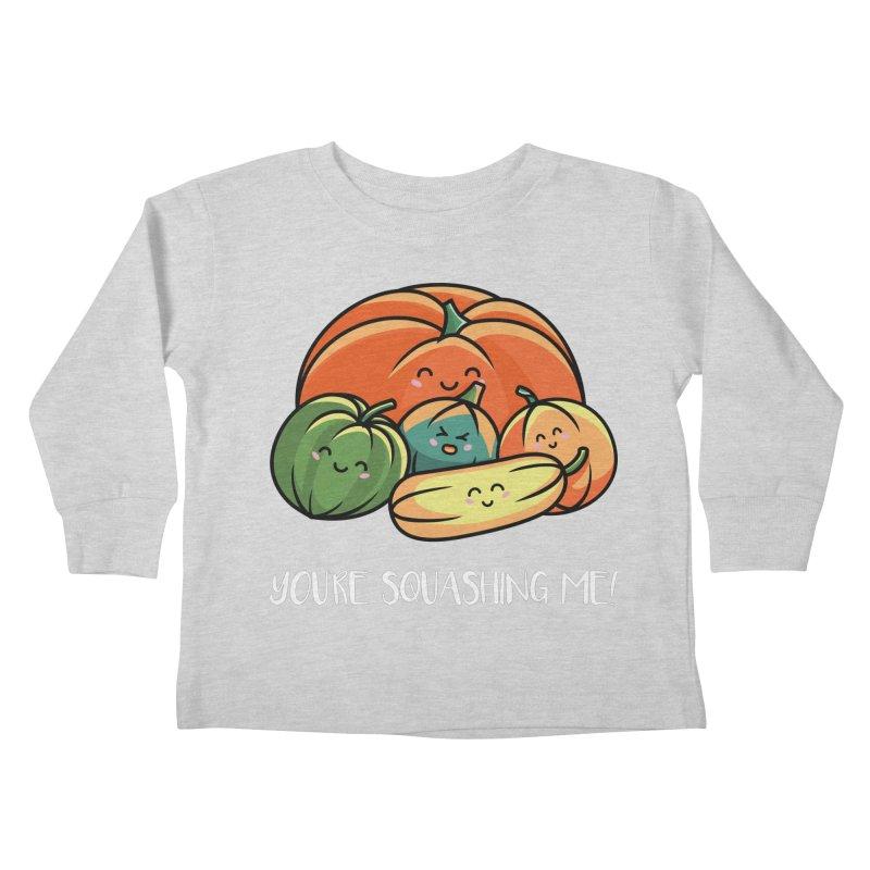 Autumn Squash Kids Toddler Longsleeve T-Shirt by Flaming Imp's Artist Shop