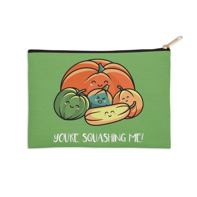 Autumn Squash Accessories Zip Pouch by Flaming Imp's Artist Shop