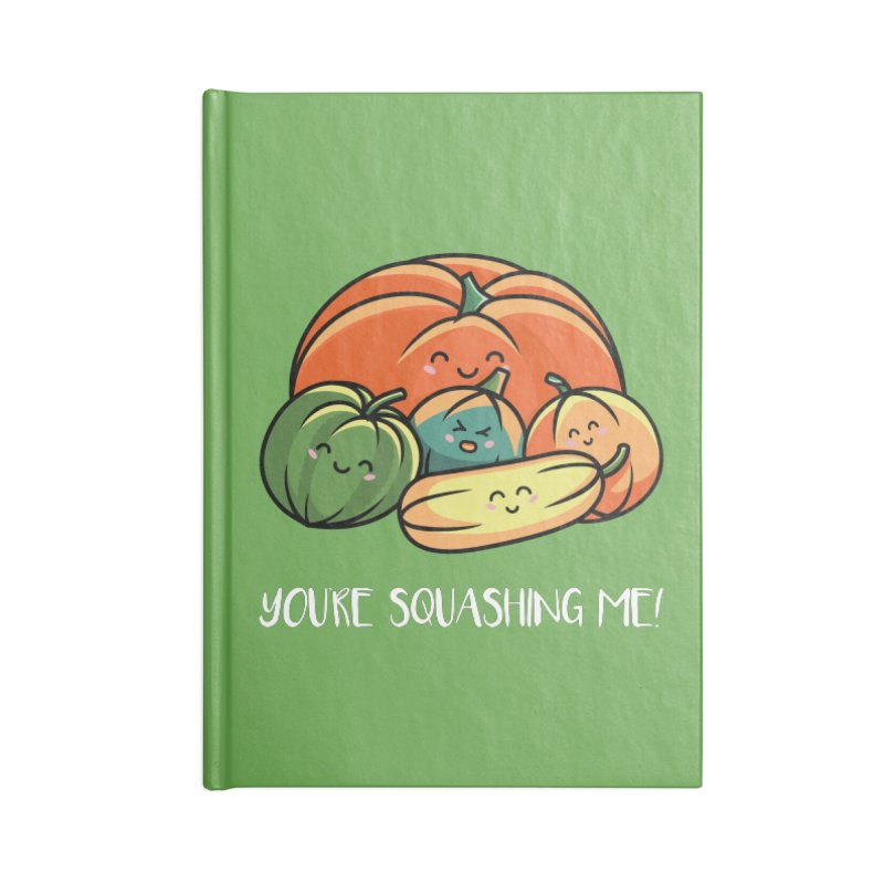 Autumn Squash Accessories Notebook by Flaming Imp's Artist Shop