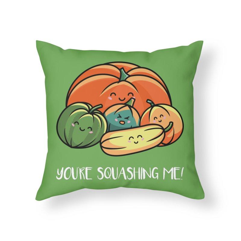 Autumn Squash Home Throw Pillow by Flaming Imp's Artist Shop