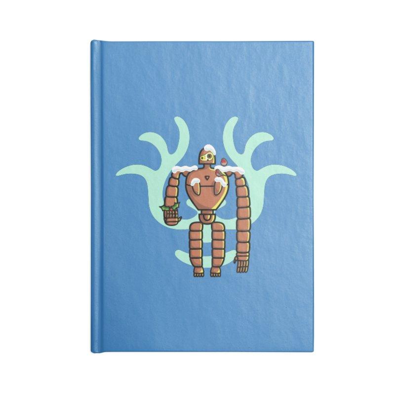 Christmas Laputa Robot Accessories Notebook by Flaming Imp's Artist Shop