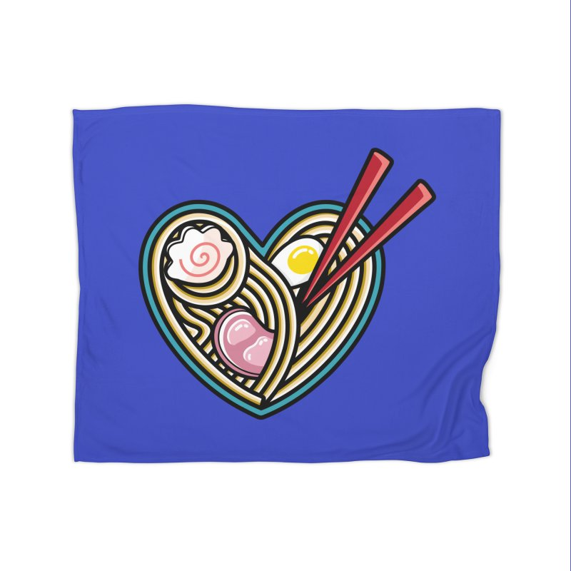 Love Ramen Home Blanket by Flaming Imp's Artist Shop