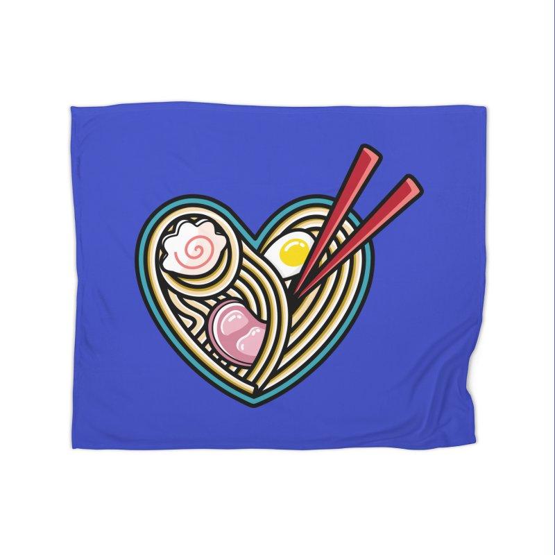 Love Ramen Home Blanket by Flaming Imp's Artist Shop