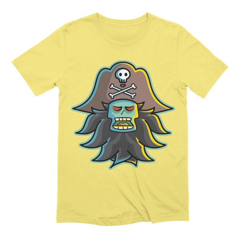 Pirate LeChuck Men's Extra Soft T-Shirt by Flaming Imp's Artist Shop