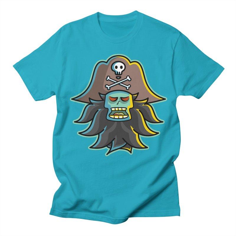 Pirate LeChuck Women's Regular Unisex T-Shirt by Flaming Imp's Artist Shop