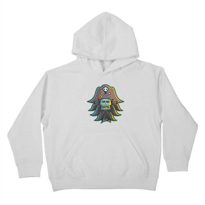 Pirate LeChuck Kids Pullover Hoody by Flaming Imp's Artist Shop