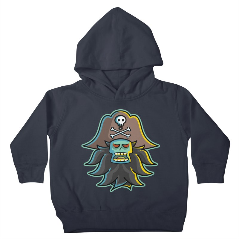 Pirate LeChuck Kids Toddler Pullover Hoody by Flaming Imp's Artist Shop