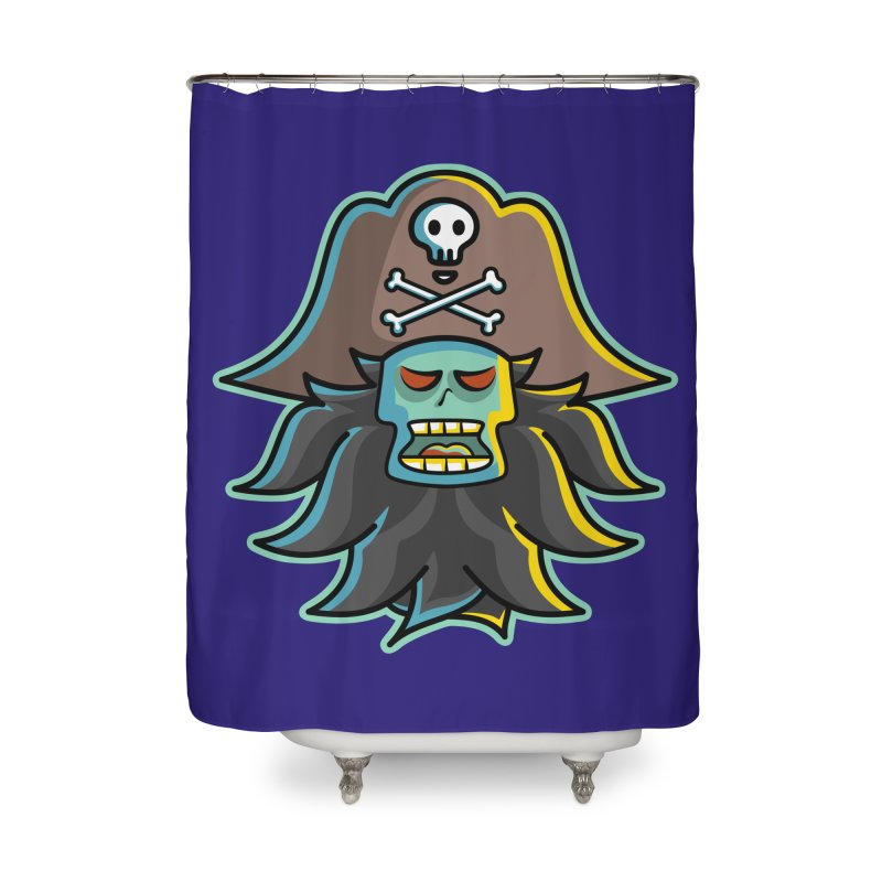 Pirate LeChuck Home Shower Curtain by Flaming Imp's Artist Shop