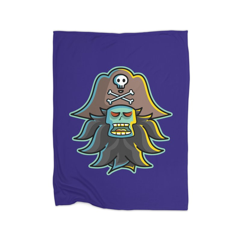 Pirate LeChuck Home Blanket by Flaming Imp's Artist Shop