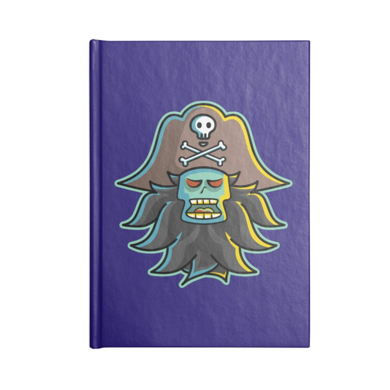 Pirate LeChuck Accessories Notebook by Flaming Imp's Artist Shop