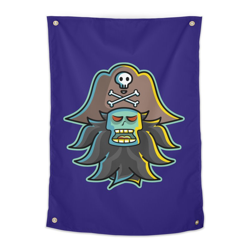 Pirate LeChuck Home Tapestry by Flaming Imp's Artist Shop