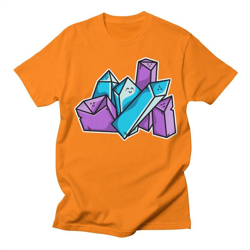 Kawaii Cute Crystals Women's Regular Unisex T-Shirt by Flaming Imp's Artist Shop