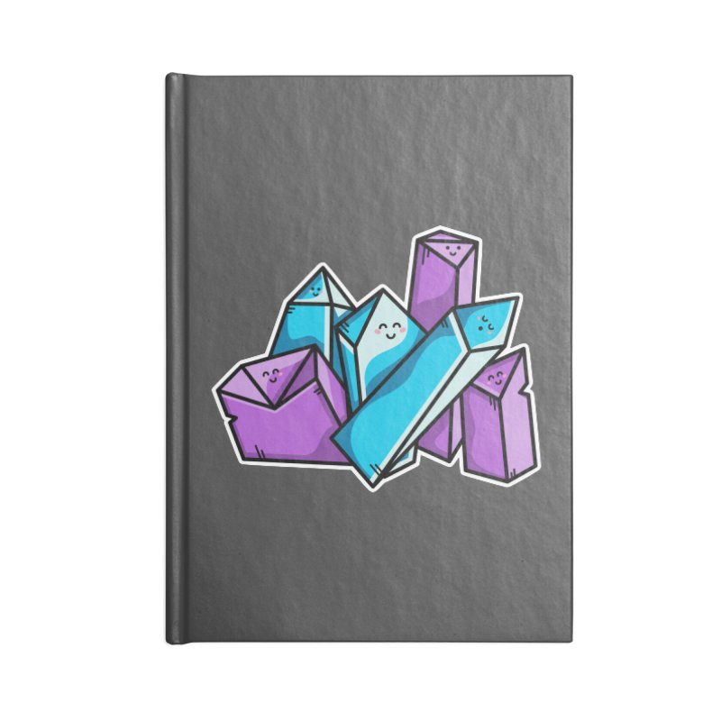 Kawaii Cute Crystals Accessories Notebook by Flaming Imp's Artist Shop